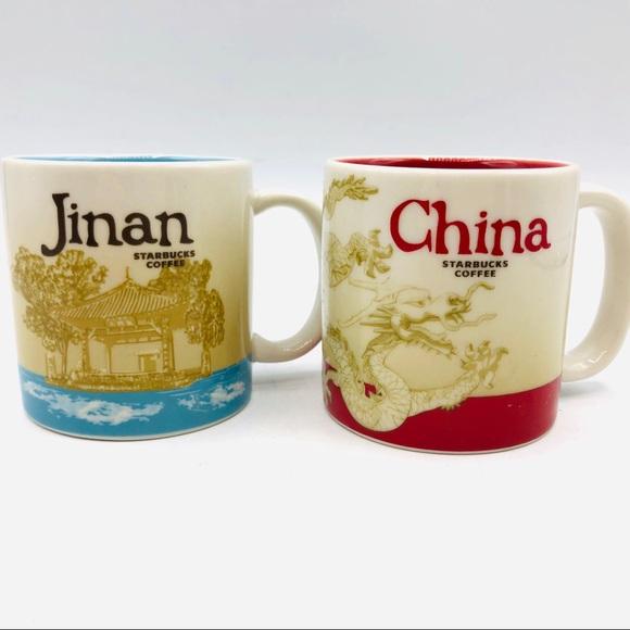 Starbucks 3 oz. Jinan, China YAH series. Mugs